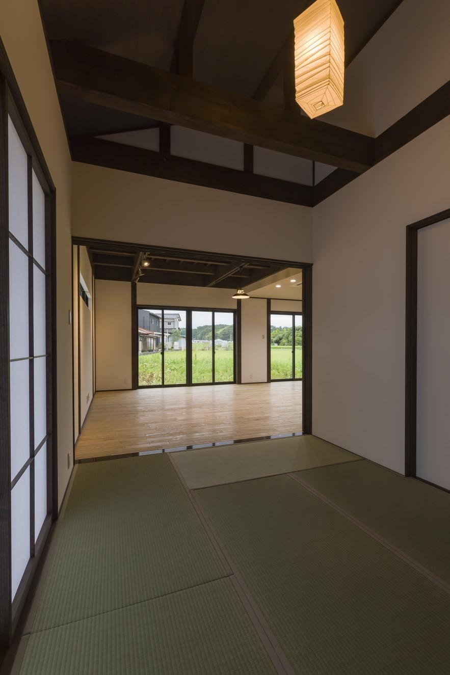 巣民家 -壱- 内観